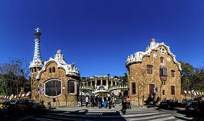Photograph - Park Guell by Randy Scherkenbach
