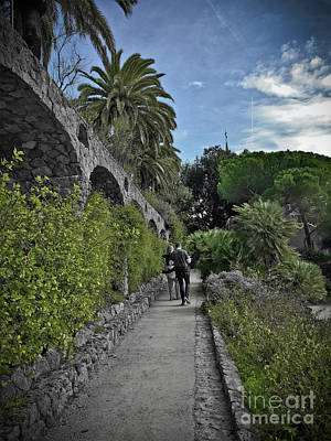 Photograph - Park Guell Walk by Colleen Kammerer