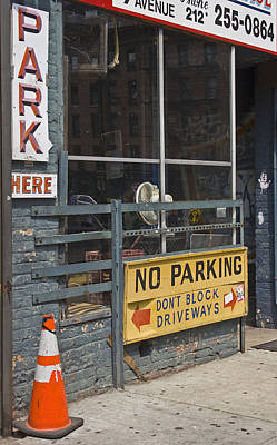 Photograph - Park Here by Art Ferrier