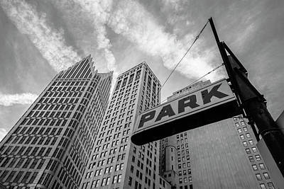 Photograph - Park In Detroit  by John McGraw