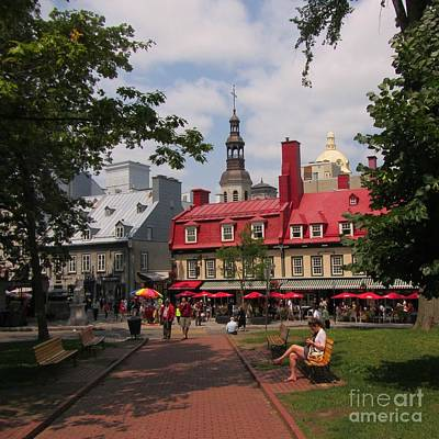 Park In Old Quebec City Original