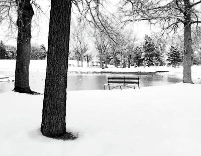 Photograph - Park In Winter by Douglas Pulsipher