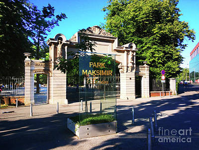 Photograph - Park Maksimir - Zagreb, Croatia by Jasna Dragun