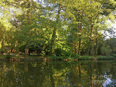 Photograph - Park Maksimir - Zagreb, Croatia No. 2 by Jasna Dragun