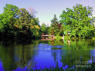 Photograph - Park Maksimir - Zagreb, Croatia No. 5 by Jasna Dragun