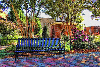 Town Of Franklin Photograph - Park On Main 2 by HH Photography of Florida