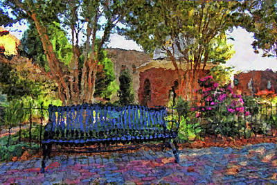 Park On Main Art Print by HH Photography of Florida