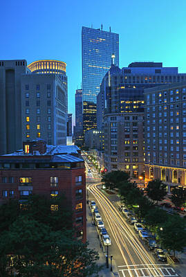 Photograph - Park Plaza Hotel Boston by Juergen Roth