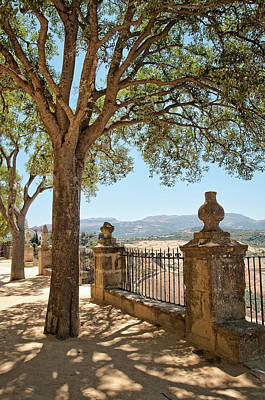 Photograph - Park Promenade In Ronda. Andalusia. Spain by Jenny Rainbow