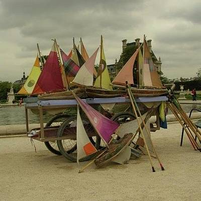 Photograph - Park Sailboats by Christin Brodie