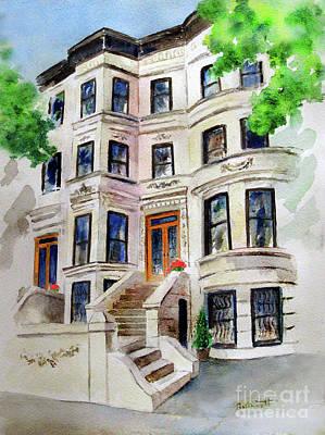 Painting - Park Slope Brooklyn by Kathleen Gwinnett