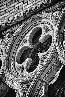 Photograph - Park Slope Landmark Detail 1 by Val Black Russian Tourchin