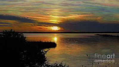 Photograph - Park Sunset 2 by Patti Whitten