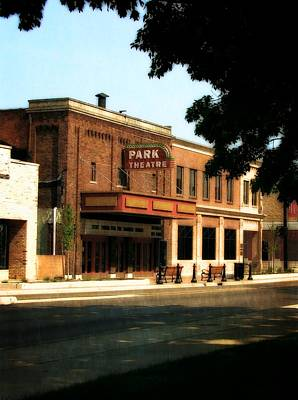 Photograph - Park Theatre by Michelle Calkins