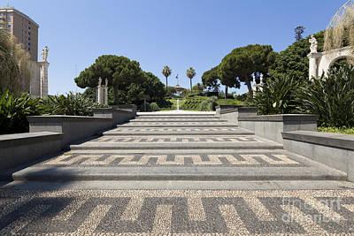 Park Villa Bellini In The Center Of Catania Art Print