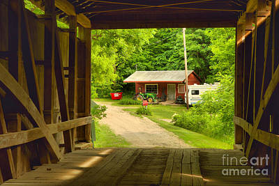 Photograph - Parke County Homestead by Adam Jewell