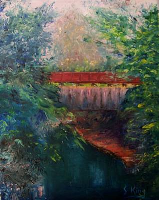 Painting - Parke County by Stephen King
