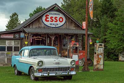 Photograph - Parked At Ferland Motor Company by Jesse MacDonald