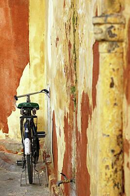 Photograph - Parked Bicycle by Prakash Ghai