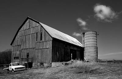D700 Photograph - Parked By The Barn by Tim Kennedy