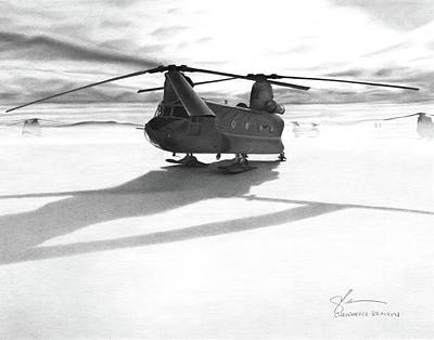 Parked Ch-47 Original