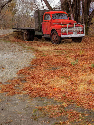 Photograph - Parked For Winter by David King