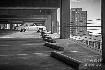 Photograph - Parked In Black And White by Imagery by Charly