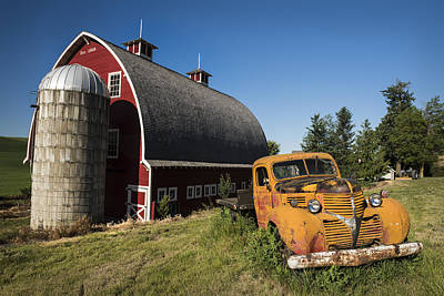 Barnyard Photograph - Parked In Front  by Jon Glaser