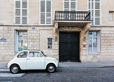 Photograph - Parked In Paris by Melanie Alexandra Price