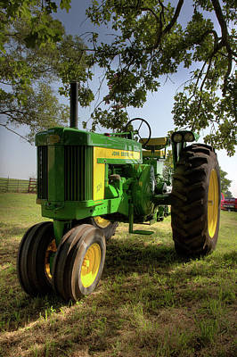 Photograph - Parked John Deere 2 by Mike Eingle