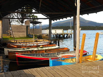 Photograph - Parked Or Moored? by Lexa Harpell