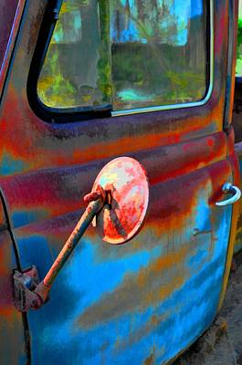 Photograph - Parked Out Back by Jan Amiss Photography