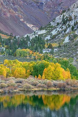 Photograph - Parker Lake Fall Colors by Alexander Kunz