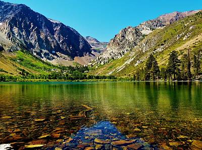 Photograph - Parker Lake Reflections by Jonathan Bayani