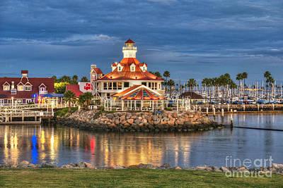 Photograph - Parkers Lighthouse Long Beach by David Zanzinger