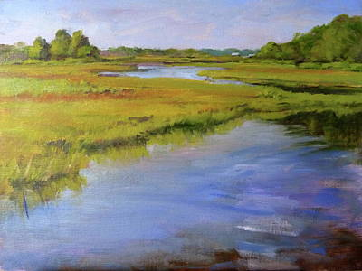 Painting - Parker's River, Cape Cod by Peter Salwen
