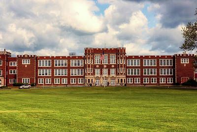 Parkersburg High School - West Virginia Art Print by L O C