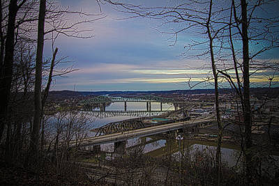 Photograph - Parkersburg In The Fall by Daniel Houghton