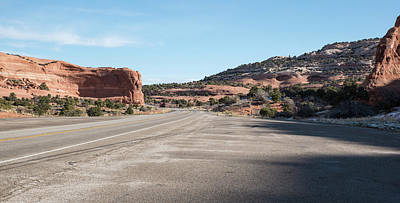 Photograph - Parking At Wilson Arch by Tom Cochran