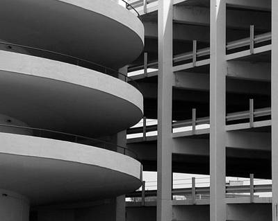 Parking Garage Art Print by David April