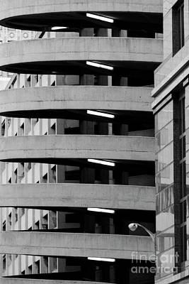 Photograph - Parking garage ramp by Dawid Swierczek