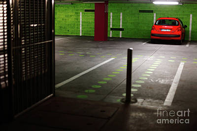 Parking Lot Art Print by Gaspar Avila