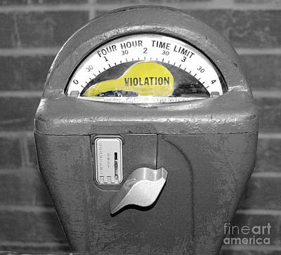 Photograph - Parking Meter by Raymond Earley