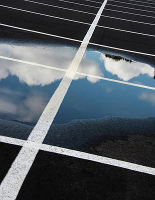 Parking Spaces For Clouds Art Print