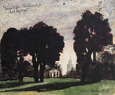 Painting - Parklandschaft Bad Muskau by Martin Stankewitz