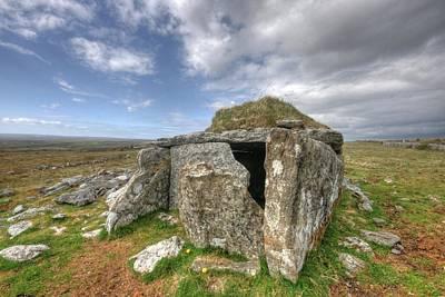 Beautiful Ireland Photograph - Parknabinna Wedge Tomb by John Quinn