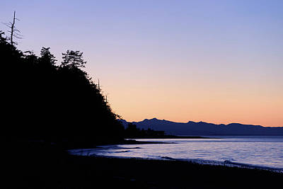 Photograph - Parksville Sunset by Keith Boone