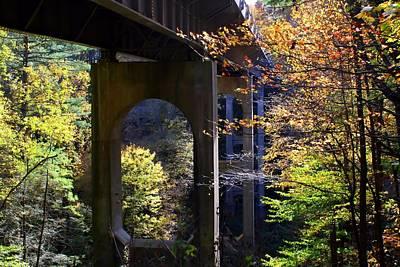 Photograph - Parkway Bridge by Kathryn Meyer