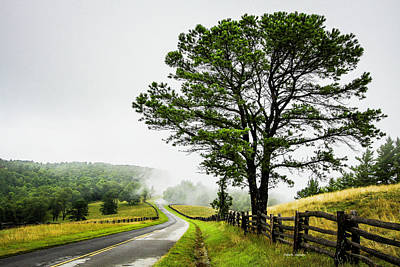 Photograph - Parkway Mist by Dale R Carlson