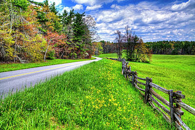 Photograph - Parkway Spring by Dale R Carlson